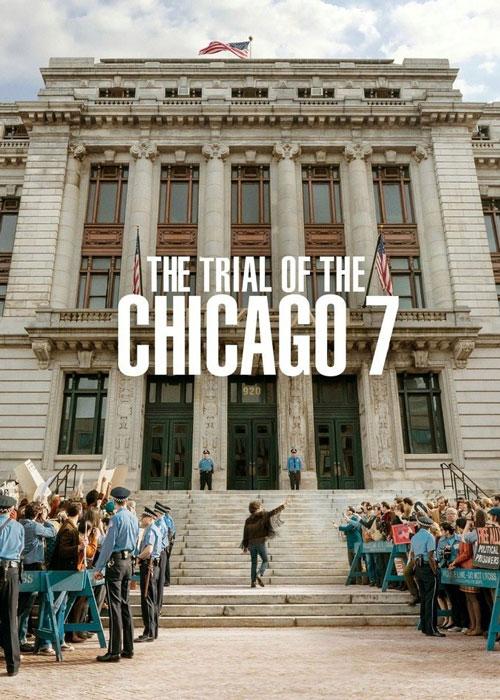دانلود فیلم The Trial of the Chicago 7 2021 دادگاه شیکاگو ۷