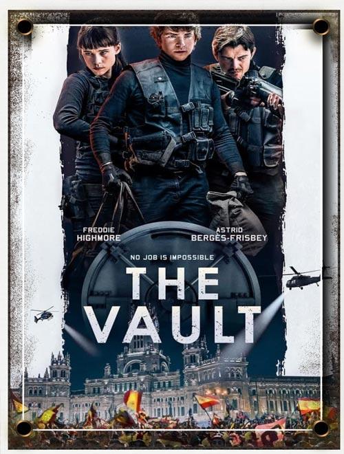 دانلود فیلم خزانه The Vault 2021