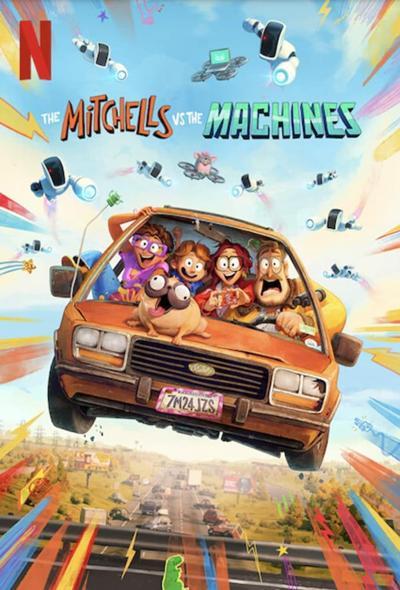 دانلود انیمیشن میچل ها در مقابل ماشین ها The Mitchells vs. the Machines 2021