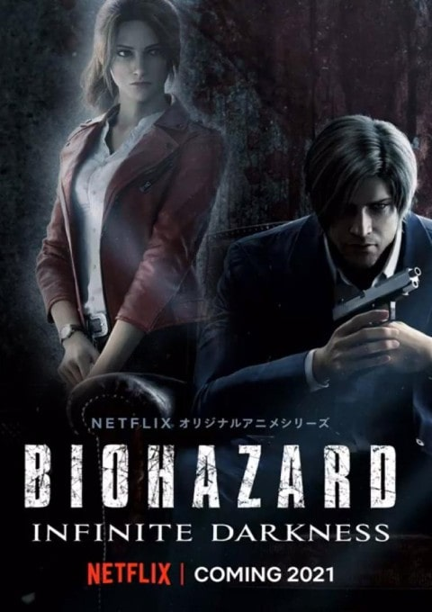 دانلود انیمیشن سریالی رزیدنت ایول Resident Evil: Infinite Darkness 2021
