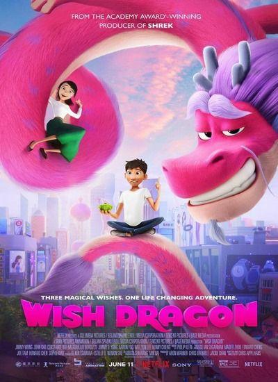 دانلود انیمیشن آرزو اژدها Wish Dragon 2021