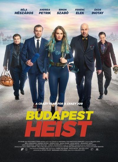 دانلود فیلم دزدی بوداپست Budapest Heist 2020