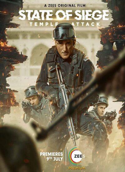 دانلود فیلم محاصره نظامی: حمله به معبد State of Siege: Temple Attack 2021