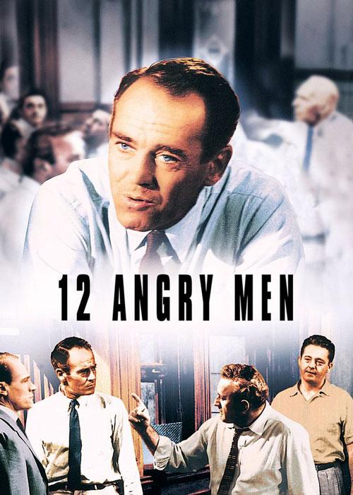 دانلود فیلم ۱۲ مرد خشمگین دوبله فارسی Twelve 12 Angry Men 1957 BluRay