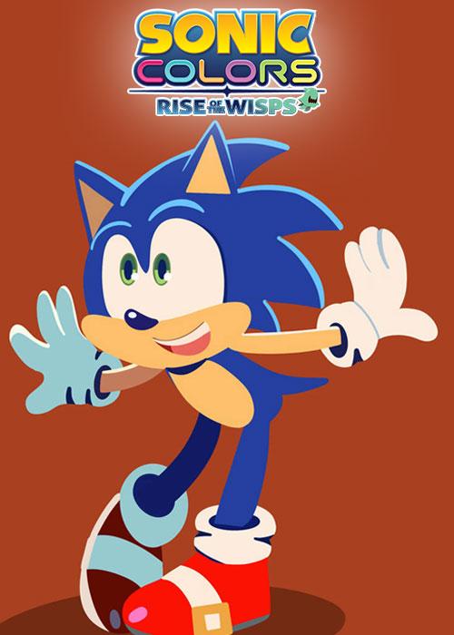 دانلود انیمیشن سونیک کالرز: ظهور جادوگران Sonic Colors: Rise of the Wisps 2021