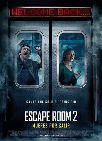 دانلود فیلم اتاق فرار 2 Escape Room: Tournament of Champions 2021 دوبله فارسی + زیرنویس فارسی