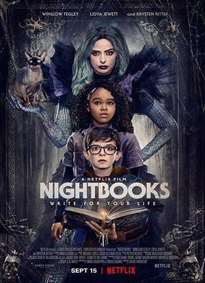 دانلود فیلم کتاب های شبانه Nightbooks 2021 دوبله فارسی + زیرنویس فارسی