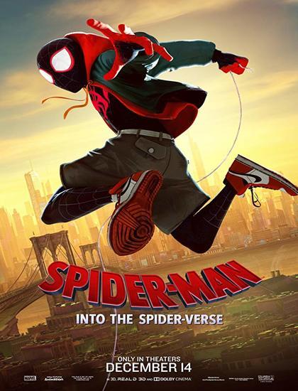 دانلود انیمیشن مرد عنکبوتی به درون دنیای عنکبوتی  دوبله فارسی Spider-Man: Into the Spider-Verse 2018
