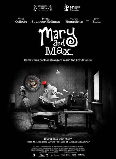 دانلود انیمیشن مری و مکس Mary and Max 2009 با دوبله فارسی